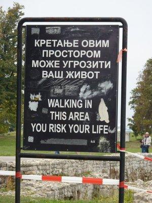 Belgrade warning