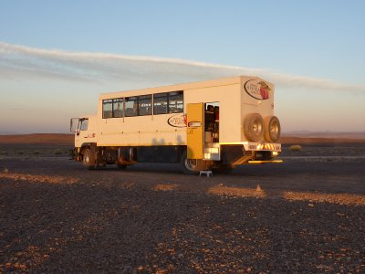 Tana at sunset, Fish River Canyon, Namibia