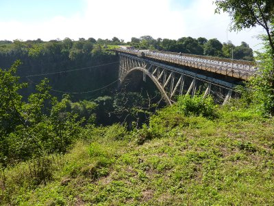 The bungi jumping bridge