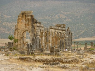 Volubilis near Meknes