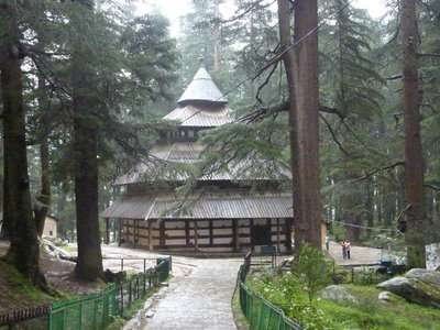 Temple in Manali
