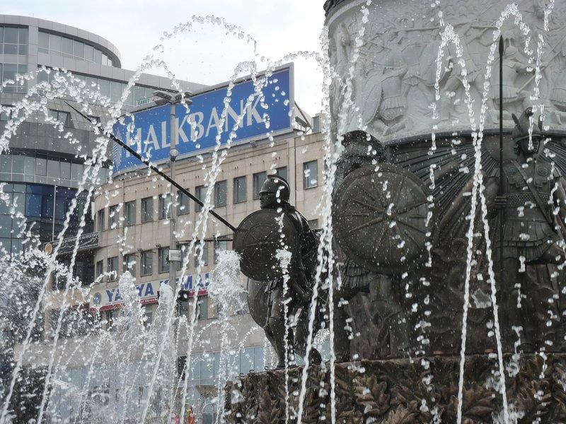 Skopje fountain