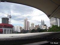 Petronas & KL tower both