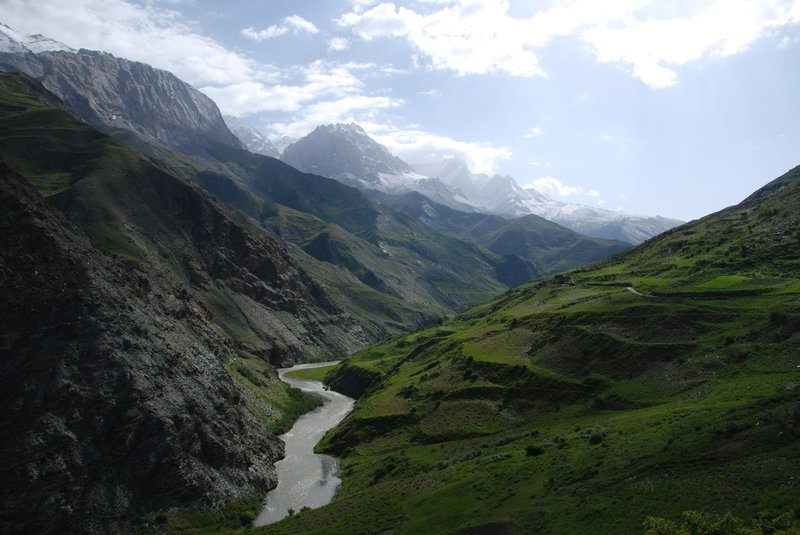 Cycling back through Yagnob valley