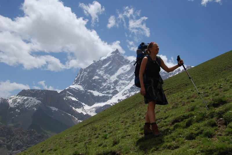 From Pasrud we explored the Fann Mountains. From Alaudin lakes we went up to the Jonat pass (3860m)