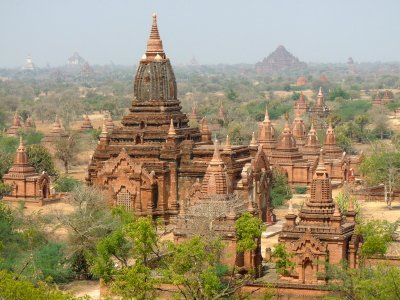 The Expanse of Bagan, Mid-day
