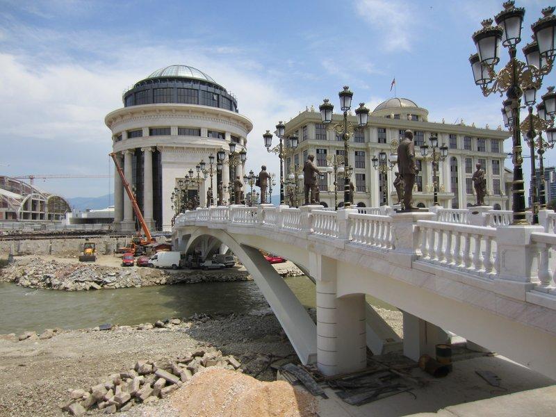 Under construction Skopje
