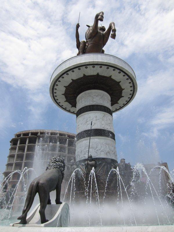 Skopje - Macedonia Square