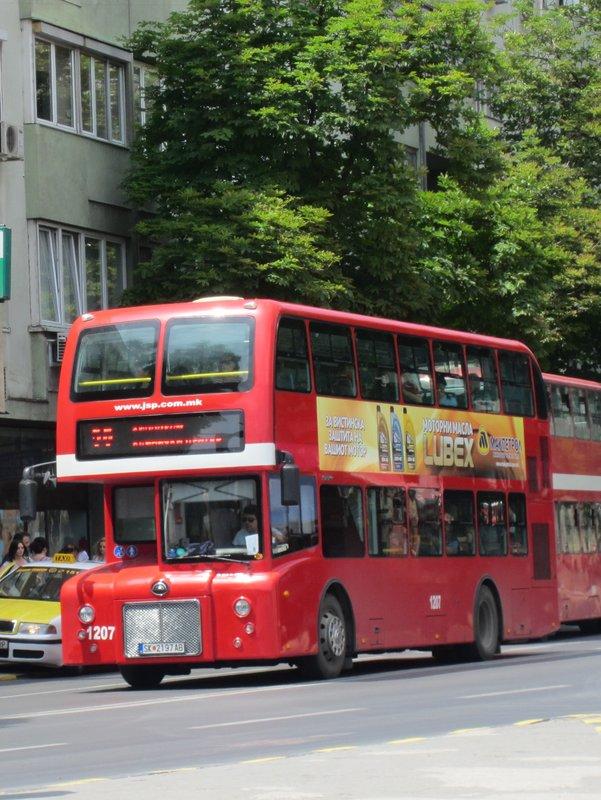Bus in Skopje