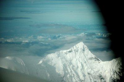Flying over Himalahya