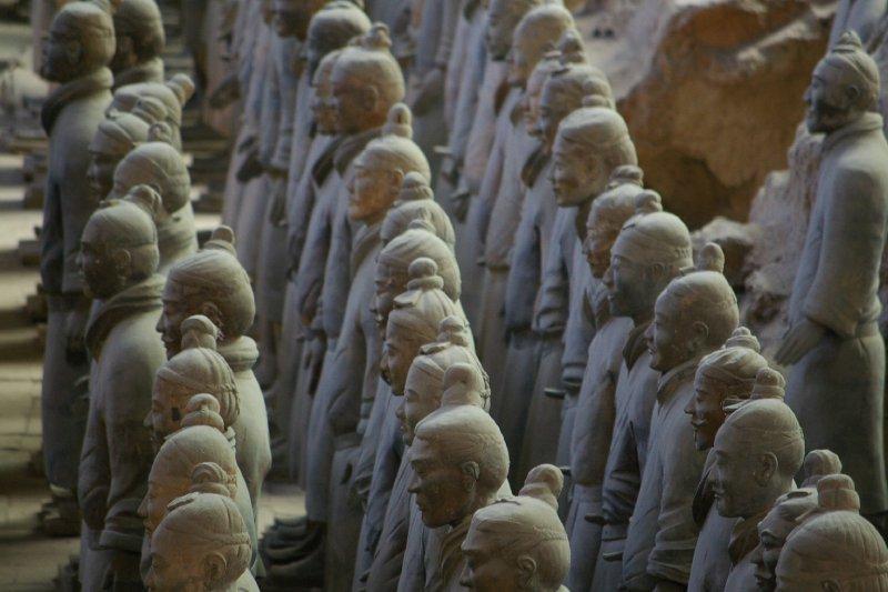 Terracotta rows