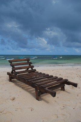 Empty Sun-bed