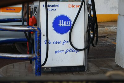 Good to know the petrol station care about our fillings