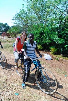 Helen arrives in Kisumu...