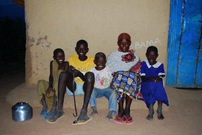 Smiley Family in Asembo