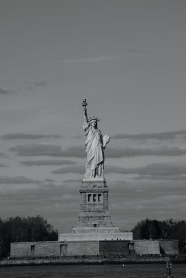 The Famed Statue of Liberty