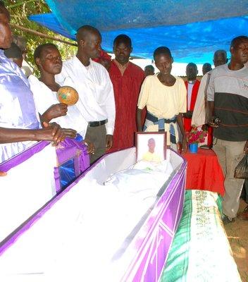 Patrick's coffin