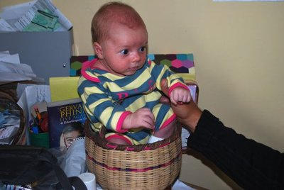 Baby in a Basket (not encouraged in any culture)