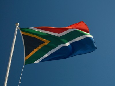 South African Multicoloured Flag