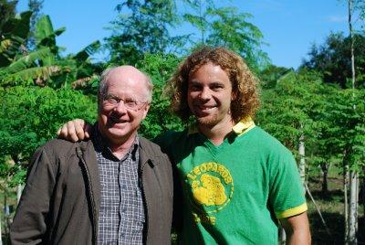 Graeme and David