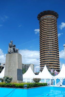 Kenya International Conference Centre and Jomo Kenyata, 1st President