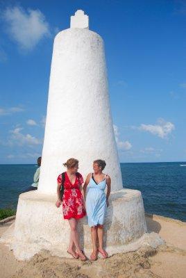 The Vasco da Gama pillar set up by the explorer of the same name...