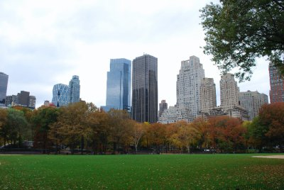 NYC from Central Park