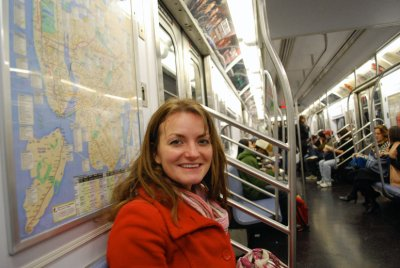 Taking the New York Subway...everywhere and not getting... lost too much