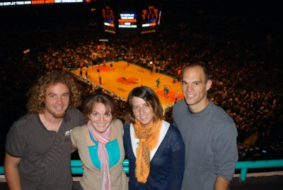 Seeing the Knicks with Cait and Jon