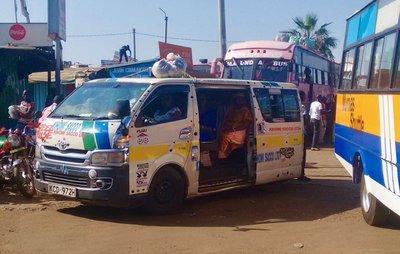 The ubiquitous matatu...