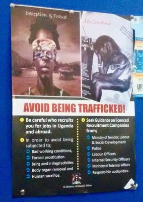 People trafficking warning at the Kenya/Uganda border