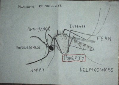 What the dreaded mosquito represents to me