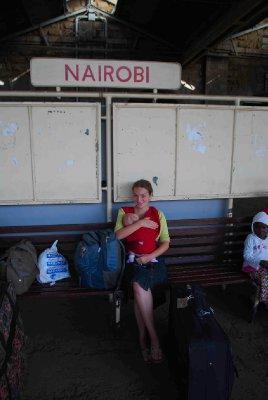 arriving in Nairobi