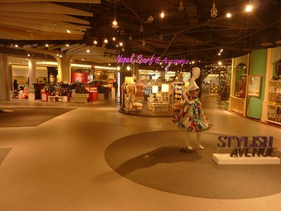 The spaciousness of malls that I have been to Thailand has been impressive