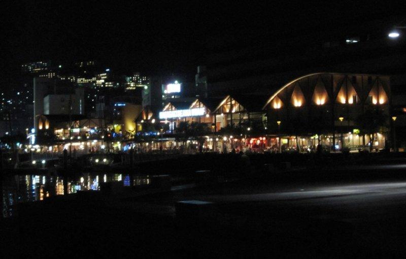 Deajama Wharf at Night