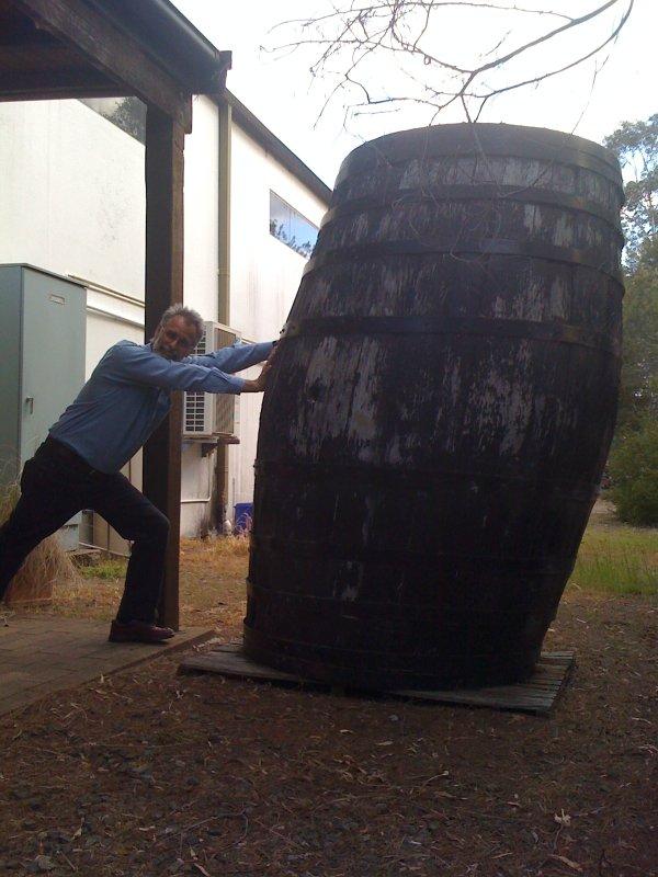 Brian v.s. the Barrel