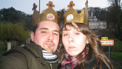 King and Queen faces