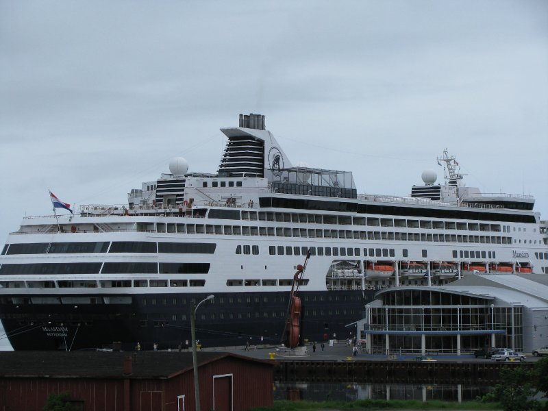 Maasdam in Sydney, Nova Scotia