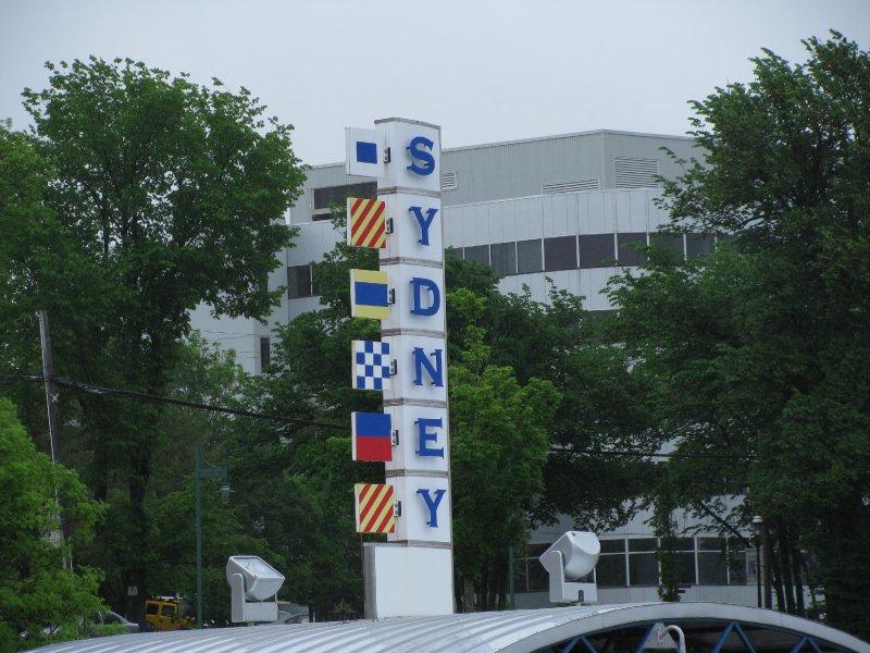Welcome to Sydney, Nova Scotia