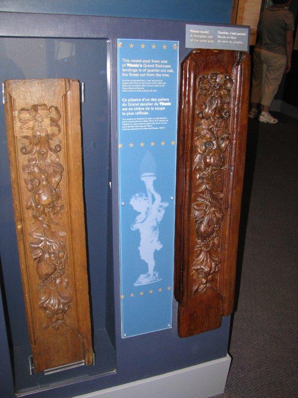 Wood Panels from Titanic