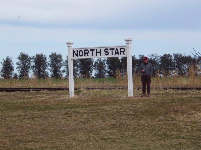 Bob at North Star Rail siding