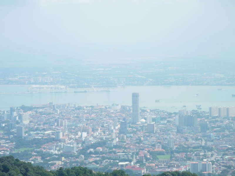 Muggy View of George Town