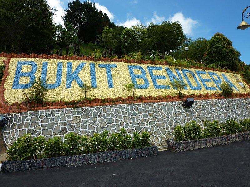Penang Hill Sign