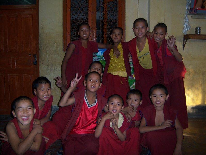 Naughty Monks