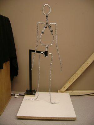 1/2 Life-size Figure Armature