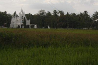 18. Church near Calangute