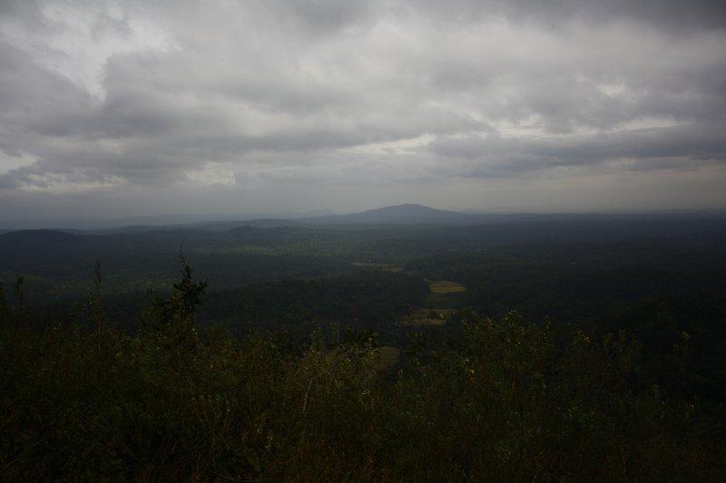 Blue Hills. Yawning Valleys