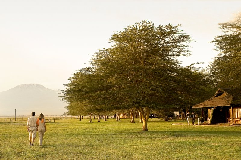 Morning Walk at Ol Tukai Lodge