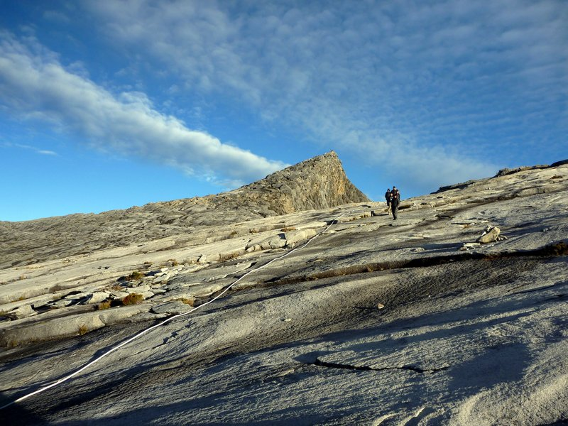 Mt Kinabalu - Descending from the Summit
