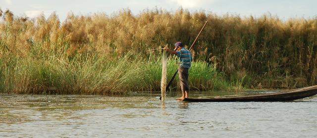 Fisherman Inle Lake Myanamar